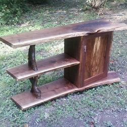 3 tier cabinets. - john sterling