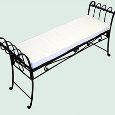 Traditional Outdoor Benches by Overstock.com