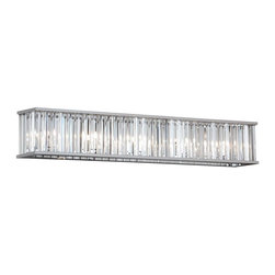 Dainolite - Dainolite ARU-367W-PC 7LT Crystal VanityAruba Collection - 7 Light Crystal Vanity