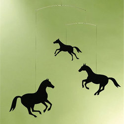 Horse Mobile - A mobile for the horse lover.