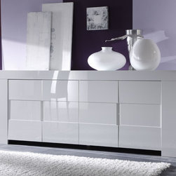 Modern Sideboard EOS White - $779.00 - Modern Sideboard EOS White. Designed and manufactured in Italy by LC Mobili.