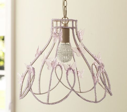 modern chandeliers by Pottery Barn Kids