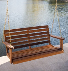 traditional outdoor swingsets by Hayneedle