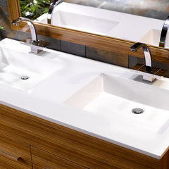 modern bathroom vanities and sink consoles Alviso Bathroom Vanity Collection
