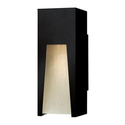 """Hinkley Lighting - Hinkley Lighting 1760-LED 12"""" Height Dark Sky LED Outdoor Wall Sconce - 12"""" Height LED Dark Sky Outdoor Wall Sconce with Rectangle Shade from the Kube CollectionFeatures:"""