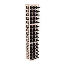 Wine Racks America - 3 Column Magnum/Champagne Wine Kit in Pine, White Wash - Easy to expand or add to an existing cellar, this Magnum wine racking kit is designed for ultimate flexibility. Our specialized magnum rack accommodates 2 whole cases of abnormally shaped bottles, and then some! We promise this rack will stand up to the test of time.