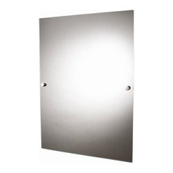Croydex - Kensington Bathroom Vanity Wall Mirror - QB55 - Manufacturer SKU: QB551043YW. Zinc Alloy Construction. High Quality Chrome Plated Finish. Concealed Screws. All Screws Included. Easy to Install. 19.69 in. W x 0.79 in. L x 27.56 in. HEvery bathroom needs a range of bathroom accessories to compliment the room. The Kensington range of wall mounted accessories does just that,. It's straight edges, solid design and high quality chrome finish accompanied by porcelain accessories makes it a stylish yet practical solution.