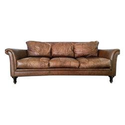 Stickely & Audi Dark Brown Couch - Retail price:$3000