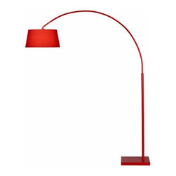 Lantern Arc Floor Lamp CB2 - modern - floor lamps - other metros - by cb2.com -
