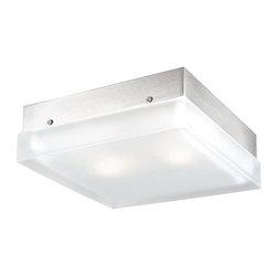 Vaxcel Lighting - Vaxcel Lighting CC56709 Loft 2 Light Flush Mount Ceiling Fixture - Features: