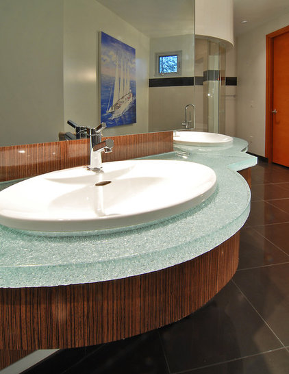 Green And Clean Ecofriendly Bath Countertops
