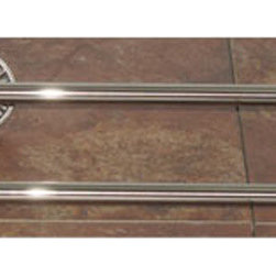 Top Knobs - Top Knobs Tuscany Bath 24 in. Double Towel Rod - Top Knobs Tuscany Bath 24 in. Double Towel Rod   Cabinet Hardware