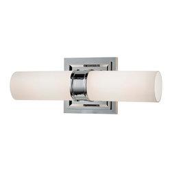 Opal Cylinder 2- Light Bath Light -
