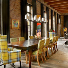 Contemporary Dining Room by Wells & Fox