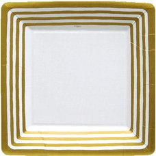 Contemporary Dinner Plates by Caspari