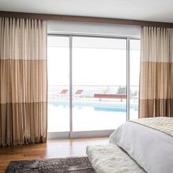 Smith & Noble Classic Wave Fold Drapery - Customer favorite for its modern, uncomplicated look that never loses its perfect shape. The beautifully shaped folds stack neatly when your drapery is opened, return with just right spacing when closed. It comes with special rod sets are available in Deco Metal, Euro Track, Metro Track and Lexington Hardware Collections. Wave Drapery is shipped in 7 business days. Starting at $158