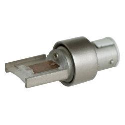Progress Lighting - Progress Lighting P8777-09 Illuma-Flex Track Lighting in Brushed Nickel - Converting adapter for mounting Illuma-Flexin! products to Alpha Trak system in Brushed Nickel finish.