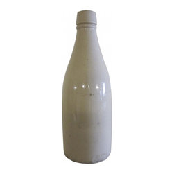 Ceramic Vase - Vintage white vase made from ceramic.
