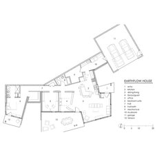 Contemporary Floor Plan by Copeland Architecture & Construction Inc