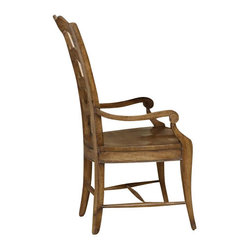 Ladderback Armchair, Set of 2