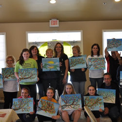 Faux Finishing, murals and hand painting - Interior Images art classes with Chrystal Hardinger & Colleen Samuels instructing