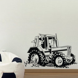 ColorfulHall Co., LTD - Wall Sticker Removable Self-Adhesive Car Wall Decals Monster Truck Wall Decals - Wall Sticker Removable Self-adhesive Car Wall Decals Monster Truck Wall Decals