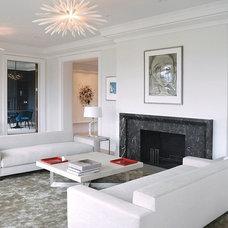 Modern Entry by Daniel Bontrop Interiors