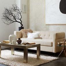 Clean + Contemporary Living Room | west elm