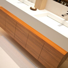 Modern Bathroom Cabinets And Shelves by Minimo Bespoke Furniture