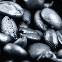 Coffee Kitchen Artwork - All in the Beans by John Rizzuto
