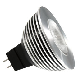 Antares Lighting - Alcor 6W MR16 LED Bulb - Dimmable - The Alcor MR16 LED (dimmable) is a maintenance-free alternative to high energy consuming MR16 lamps
