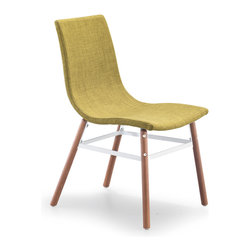 ZUO MODERN - Stavanger Chair Pea Fabric (set of 4) - Stavanger Chair Pea Fabric
