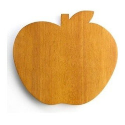 Martha Stewart Collection Cutting Board, Apple Shaped