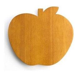 Martha Stewart Collection Cutting Board, Apple Shaped - This sweet cutting board might just inspire you to bake some apple pies.