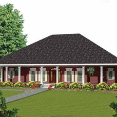 Eplans New American House Plan - Three Porches! - 2775 Square Feet and 3 Bedroom