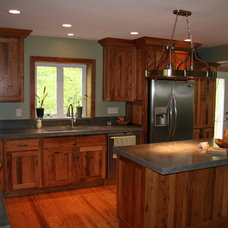 Traditional Kitchen Cabinetry by K.D. Woods Company