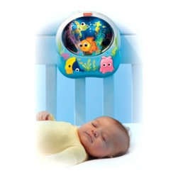Disney Baby - Fisher-Price Disney Baby Finding Nemo Soothing Sea Soother - This soother will make your child's crib resemble Nemo's peaceful and calm underwater home. It features a multi-colored fiber optic light show that will mesmerize your baby and help to provide a perfect sleep.
