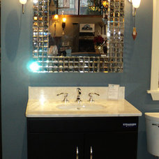 Contemporary Bathroom Mirrors by Frank Webb's Bath and Lighting Center