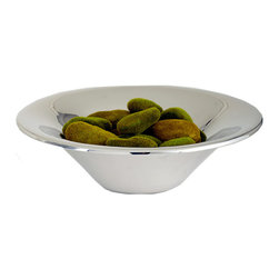 Riado - Elegant Fruit Bowl - Our products are handcrafted using high quality materials. Slight variations and imperfections are expected and are the inherent beauty of these items