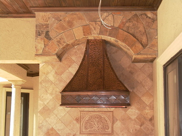 Rustic Range Hoods And Vents by Copper Innovations, Inc
