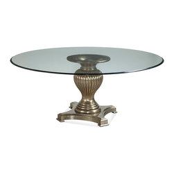 Bassett Mirror - Bassett Mirror Palazzina Round Dining Table D2815-700-905EC - Bassett Mirror Palazzina Round Dining Table D2815-700-905EC