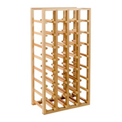 Richelieu - S32 - Standard Rack - Holds 32 Standard 750ml Bottles - Store 32 standard size 750ml bottles of wine in this standard rack.