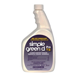 SIMPLE GREEN - 32 OZ SIMPLE GREEN PRO 512/32 OZ - CAT: Chemicals & Janitorial Supply Chemicals Disinfectants
