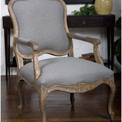 Uttermost Willa Arm Chair - About UttermostThe mission of the Uttermost Company is simple: to make great home accessories at reasonable prices. This has been their objective since founding their family-owned business over 30 years ago. Uttermost manufactures mirrors, art, metal wall art, lamps, accessories, clocks, and lighting fixtures in its Rocky Mount, Virginia, factories. They provide quality furnishings throughout the world from their state-of-the-art distribution center located on the West Coast of the United States.