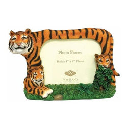 WL - 4 x 6 Inch Tiger Family of Three Hiding in the Grass Picture Frame - This gorgeous 4 x 6 Inch Tiger Family of Three Hiding in the Grass Picture Frame has the finest details and highest quality you will find anywhere! 4 x 6 Inch Tiger Family of Three Hiding in the Grass Picture Frame is truly remarkable.