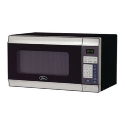 Oster - Oster AM780 SS .7 cu. ft. 700W Countertop Microwave Oven - CULAM780SS - Shop for Microwave Ovens from Hayneedle.com! With its stainless steel design and smart cooking functions the Oster AM780 SS .7 Cubic Foot 700W Countertop Microwave Oven is the perfect accessory to your modern kitchen. This microwave oven offers .7 cubic feet of space 10 adjustable power levels and 1-touch cook settings for popular foods. A digital clock cooking timer and child safety lock make it a must-have kitchen item.