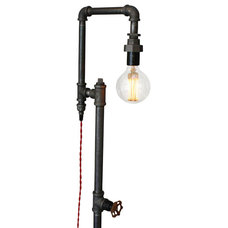Industrial Floor Lamps by Peared Creation