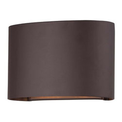 The Great Outdoors - The Great Outdoors 72400-615B 2 Light ADA Compliant Dark Sky Compliant Outdoor W - Two Light Outdoor Wall Sconce from the Everton CollectionFeatures: