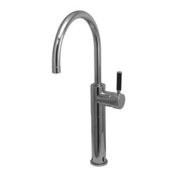 Kingston Brass - Kingston Brass Polished Chrome Kaiser Single Handle Vessel Sink Faucet FS8031DKL - The single-handle vessel sink faucet is fabricated from solid brass material for durability and reliability. Its sleek design and lustrous appeal also features a premium color finish which is resistant to tarnishing and corrosion. With its solid brass construction and smooth detail, the faucet is made to appeal but also is engineered to be drip-free, care-free and long-lasting.Manufacturer: Kingston BrassModel: FS8031DKLUPC: 663370180729Product Name: Single Handle Vessel Sink FaucetCollection / Series: KaiserFinish: Polished ChromeTheme: Contemporary / ModernMaterial: BrassType: FaucetFeatures: Constructed from solid brass for durability and reliability