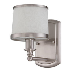 Craftmade - Craftmade 14805BNK1 1-Light Wall Sconce - Craftmade 14805BNK1 1-Light Wall Sconce